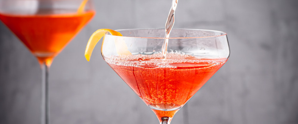 Aperol and Gin Cocktail