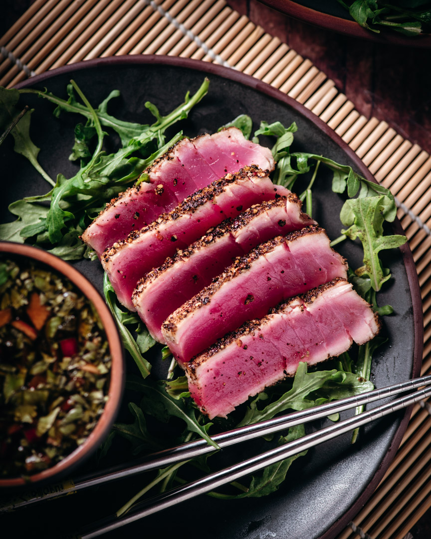 Seared Ahi with Ponzu Sauce