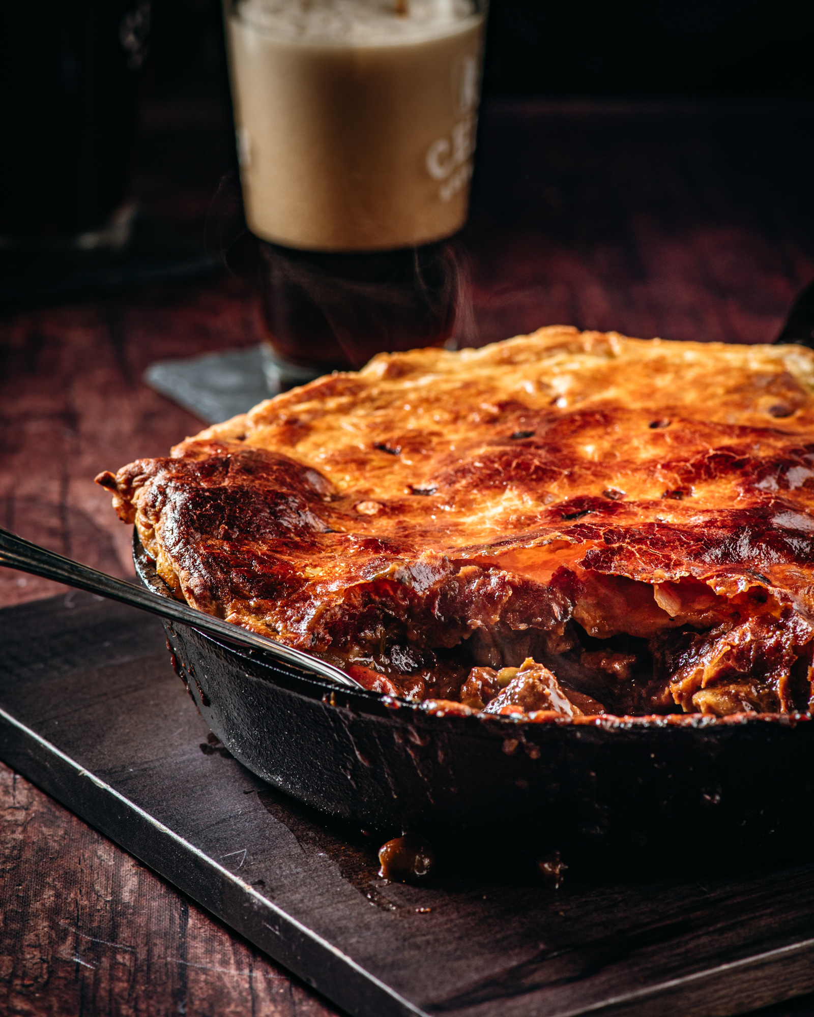Steak and Ale Pot Pie