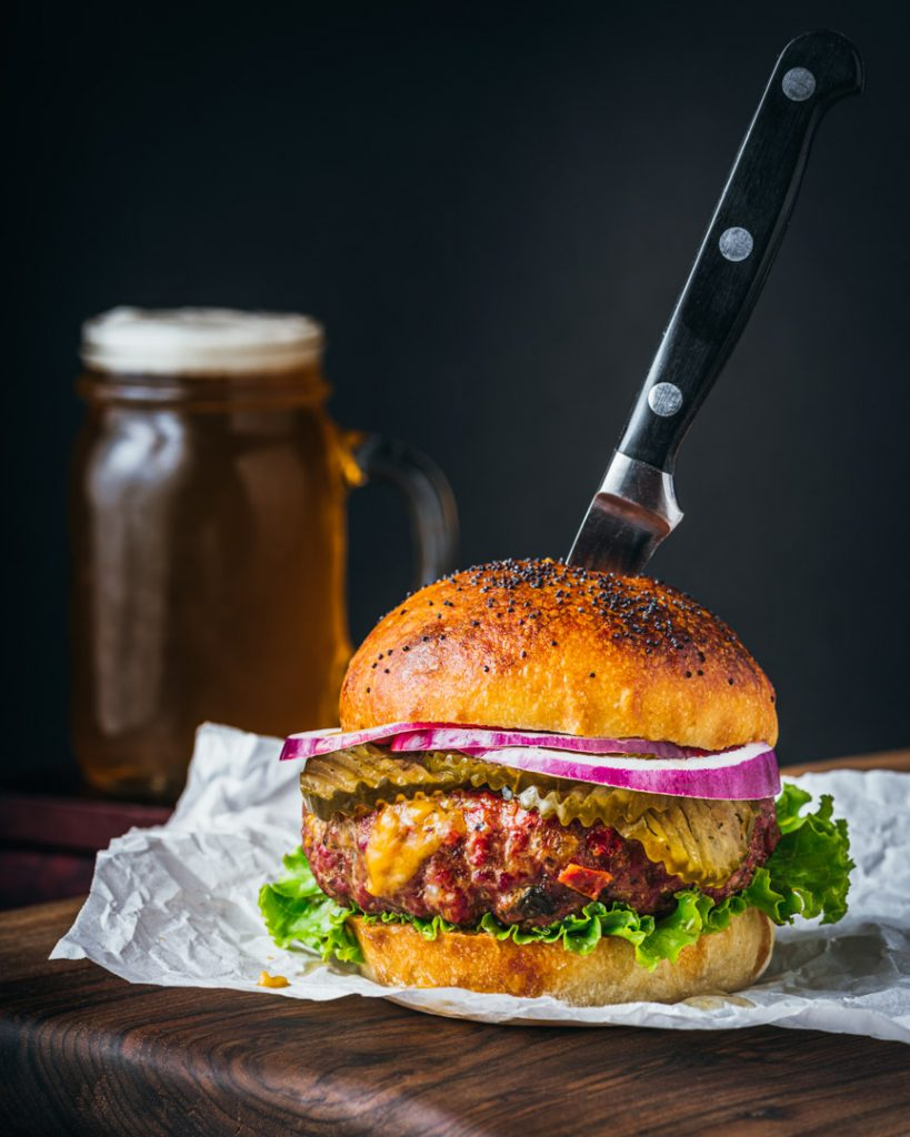 Juicy Lucy Cowgirl Burger