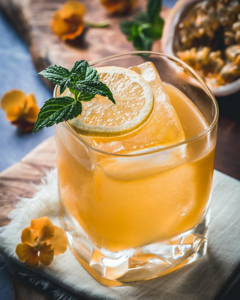 Passionate Ginger Whiskey Cocktail