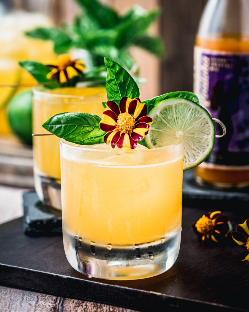 Passion Fruit Gin Punch