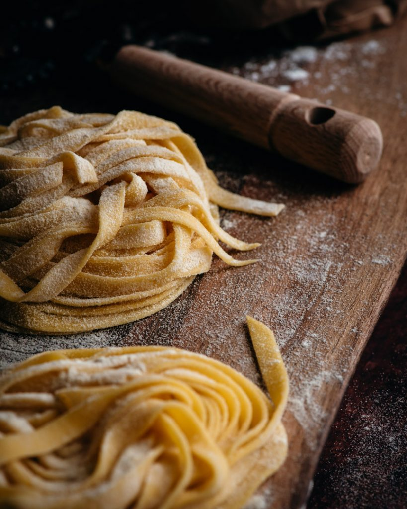 Homemade Pasta is perfect for this dish!
