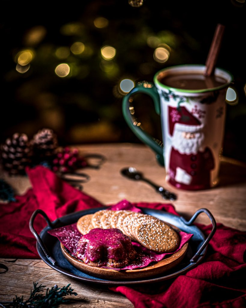 Hot Buttered Rum and Gingerbread Cake