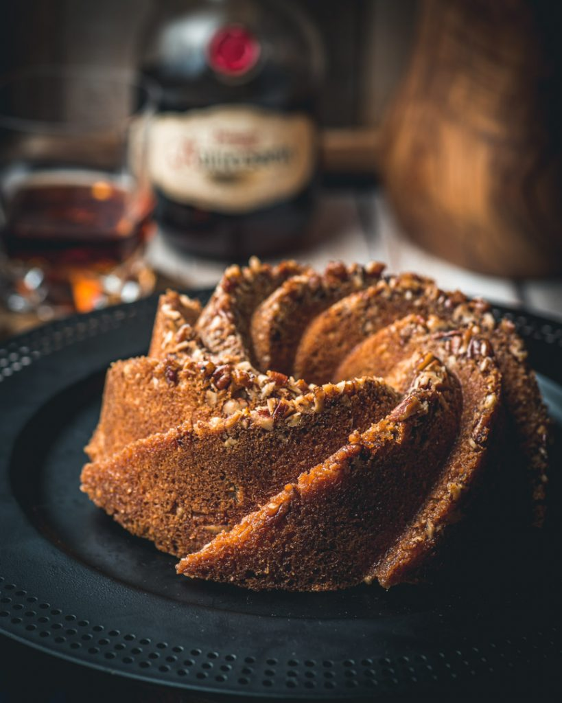 Brown Butter and Pecan Rum Cake