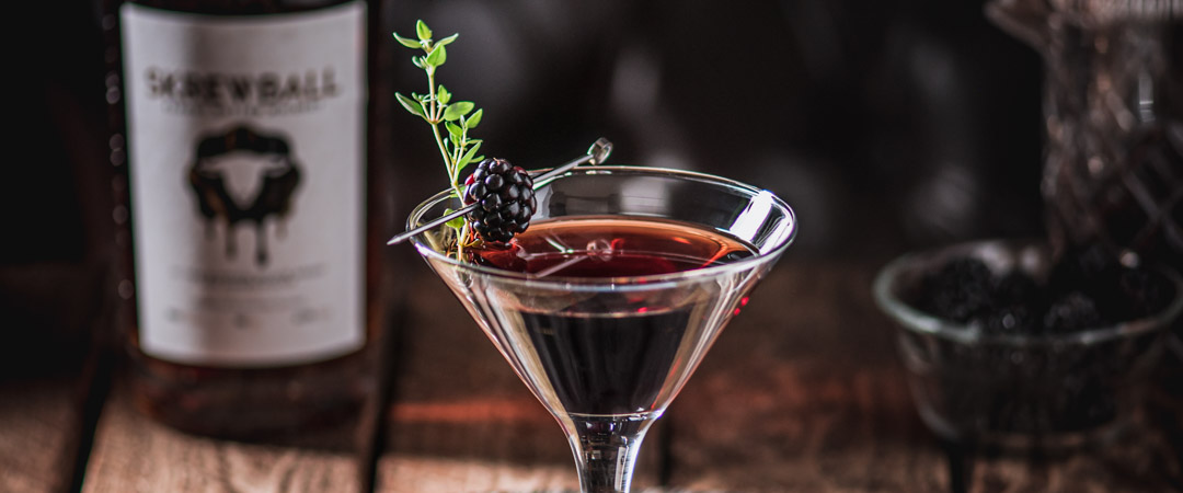 Peanut Butter Jelly Thyme Cocktail