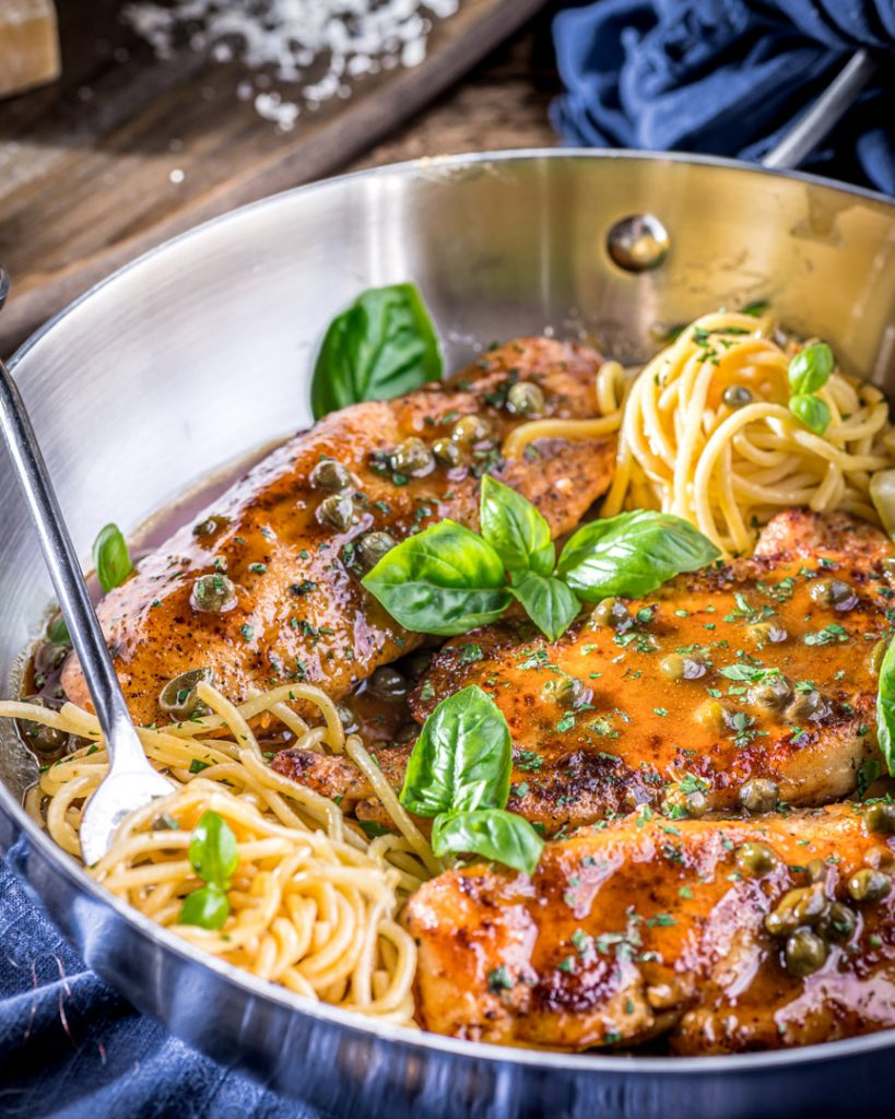 Tangy, savory, and delicious caper lemon butter sauce