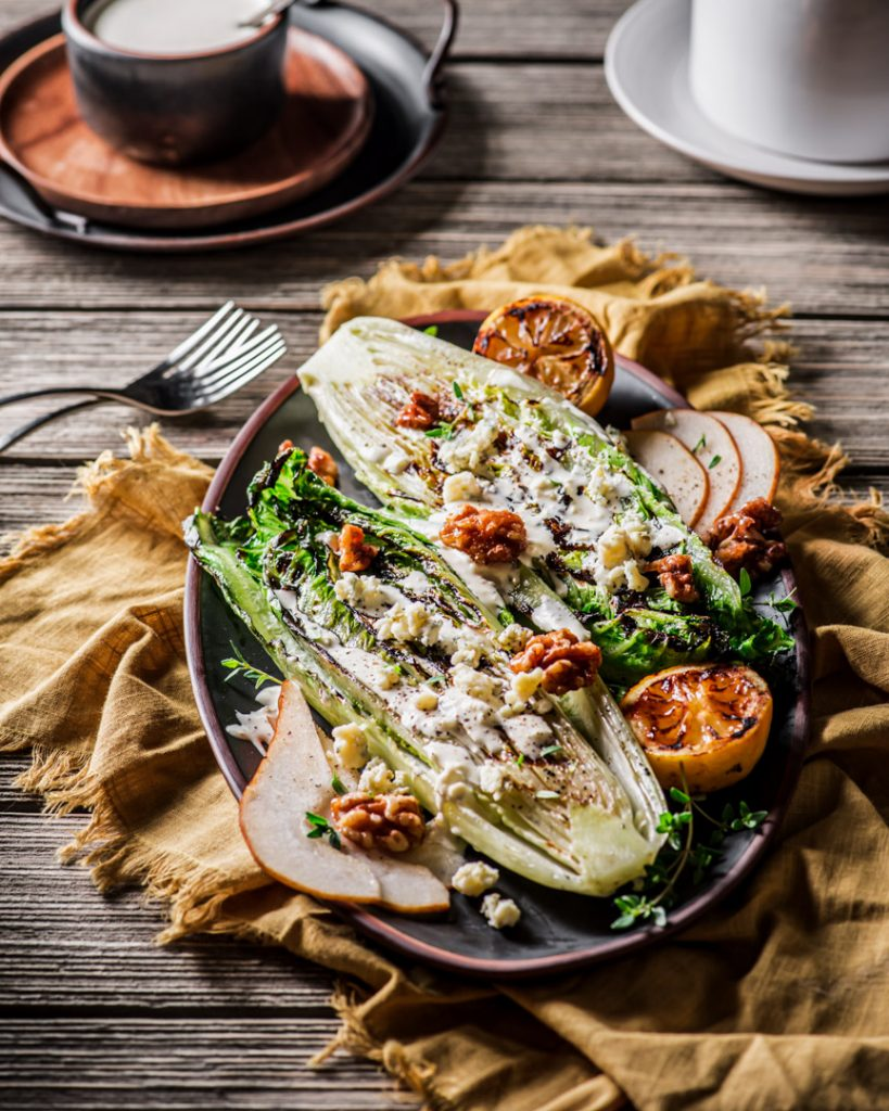 Grilled Romaine Steakhouse Salad